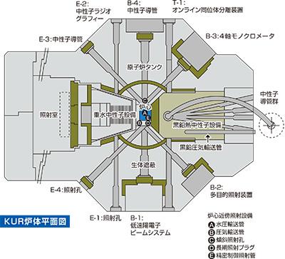 原子炉水平断面図