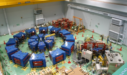 Figure: FFAG accelerator complex at Kyoto University Research Reactor Institute.
